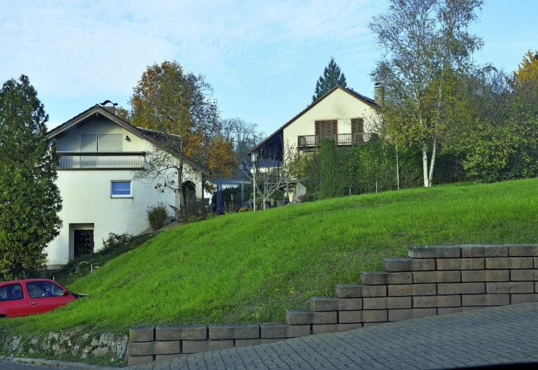 """Nach 50 Jahren wird die Baulücke in de...ße """"Im Eigen"""" geschlossen.    Foto: Jutta Schütz"""