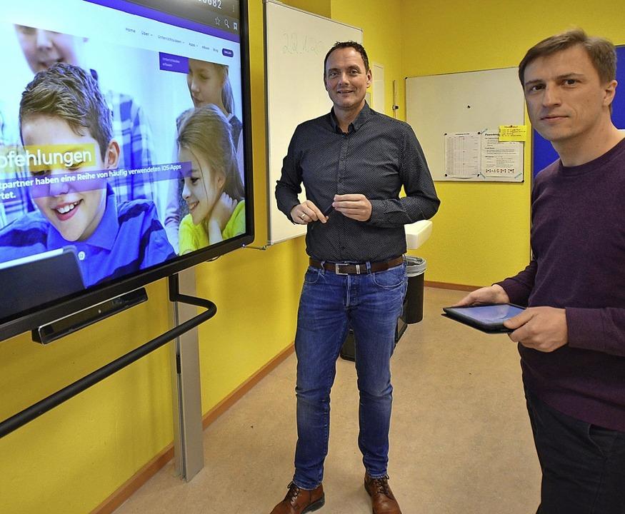Am Schulzentrum Efringen-Kirchen gibt es bereits digitale Lernangebote.  | Foto: textdirekt