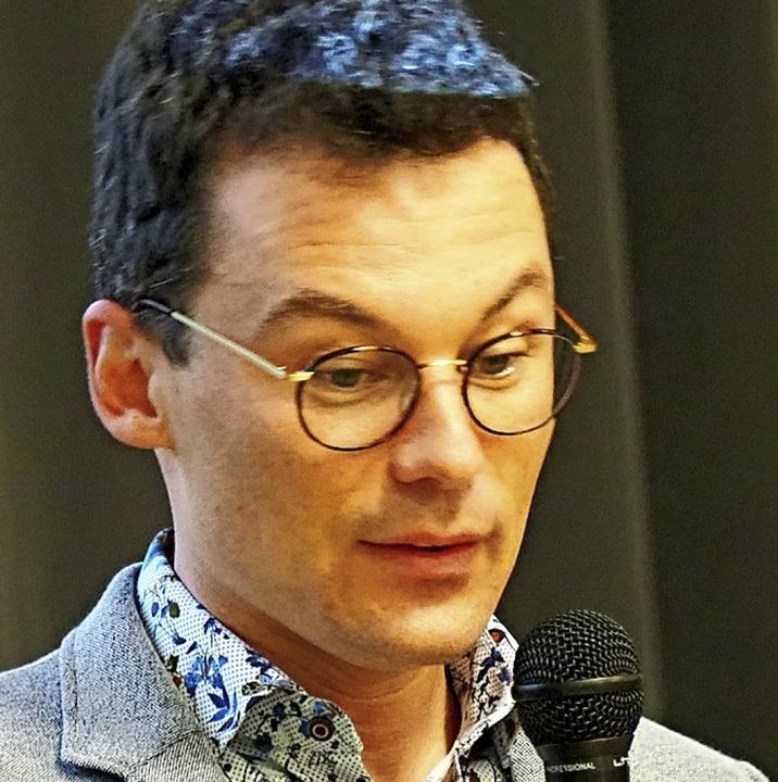 Rektor Timo Pilz   | Foto: Herbert Frey