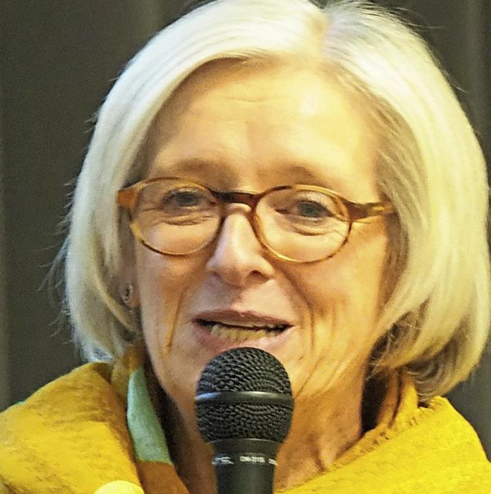 Rektorin Stefanie Kapfer   | Foto: Herbert Frey