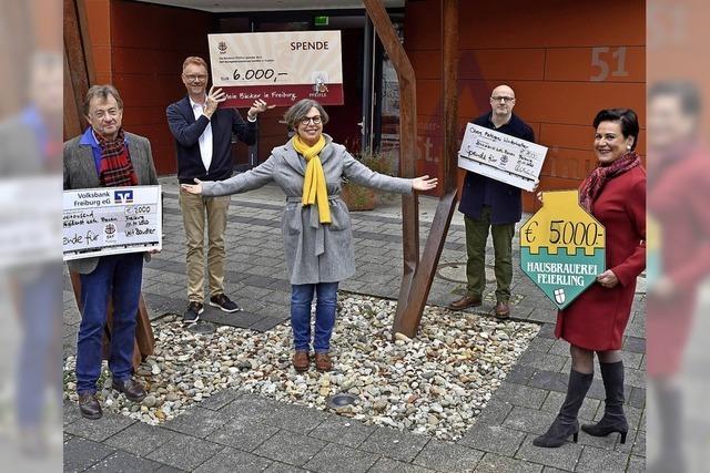 Handwerker spenden 14 000 Euro