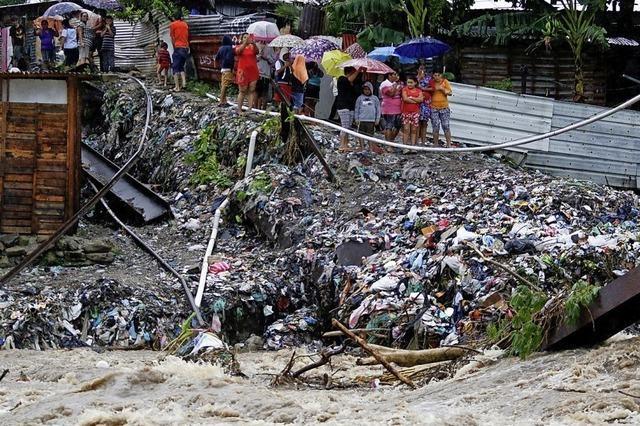 Iota verwüstet Gebiete in Mittelamerika