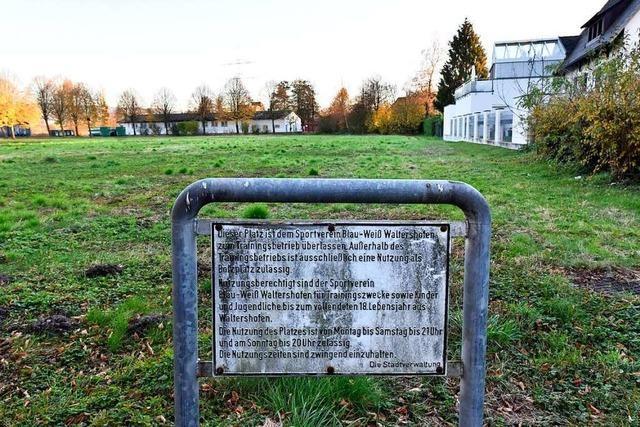 Auf Freiburg-Waltershofens Altem Sportplatz entstehen 52 Wohnungen