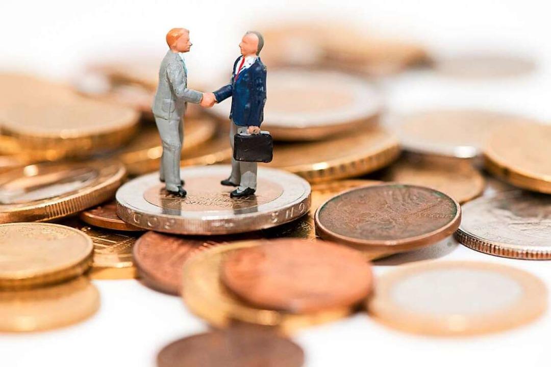 Mit Kreditaufschüben greifen die Banke... noch ein recht solides Finanzpolster.    Foto: Andrea Warnecke