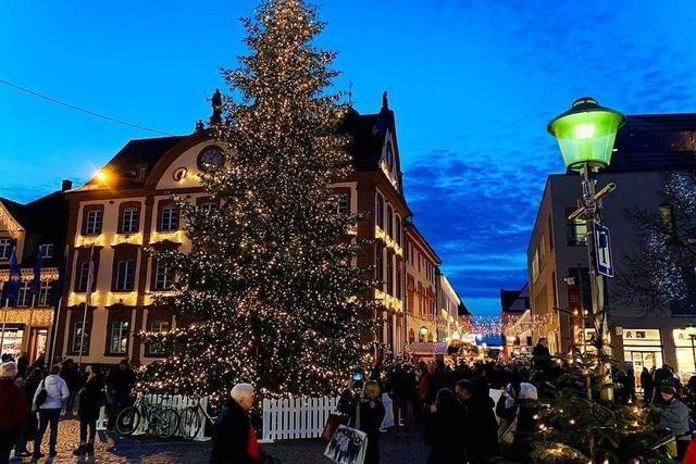 Debatte um Stattfinden des Offenburger Weihnachtsmarktes ebbt nicht ab