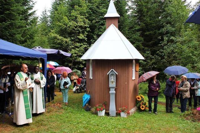 Die Judas-Thaddäus-Kapelle auf dem Eisenbacher Herrenberg wurde erbaut, weil eine Frau vor den Nazis gerettet wurde