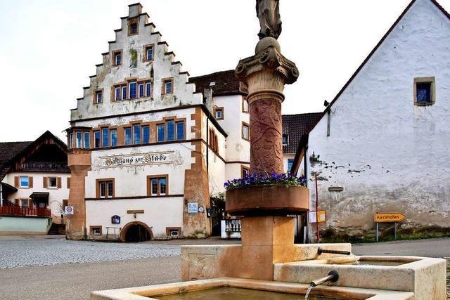 Pfaffenweiler sucht Architekten für die Stube