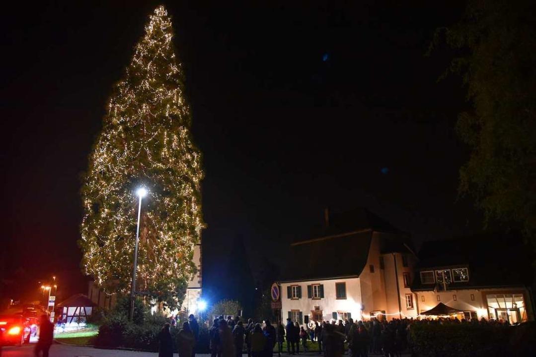 Am Sonntag wird der Eichsler Weihnacht...allerdings ohne Publikum (Archivfoto).    Foto: Martin Eckert