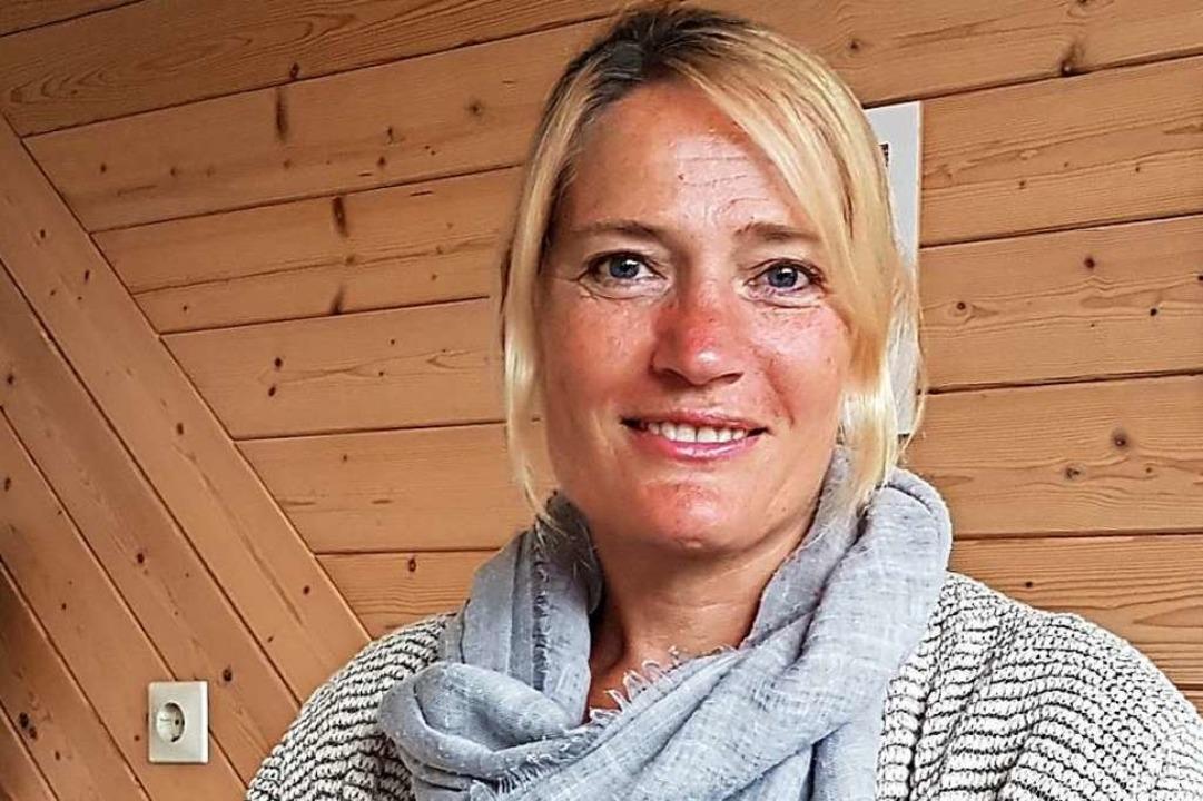 Tanja Steinebrunner ist wild entschlos... Platz im Fröhnder Rathaus zu kämpfen.  | Foto: Gerald Nill
