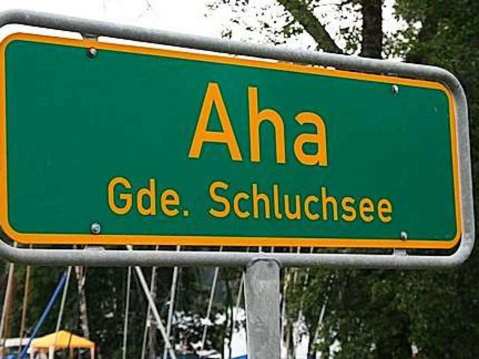 Als spontaner Ausruf bedeutet Aha in d...gs wirft dagegen ganz neue Fragen auf.    Foto: Luisa Denz