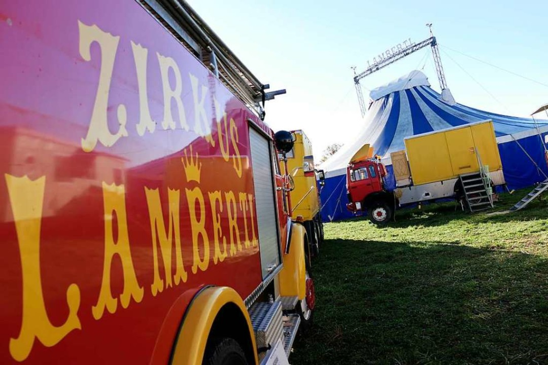 In Schieflage geraten: Das corona-bedi...etzt dem Zirkus Lamberti erheblich zu.  | Foto: Hans-Peter Müller