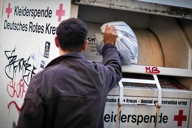 Warum das Müllheimer DRK seine 60 Altkleidercontainer abgebaut hat