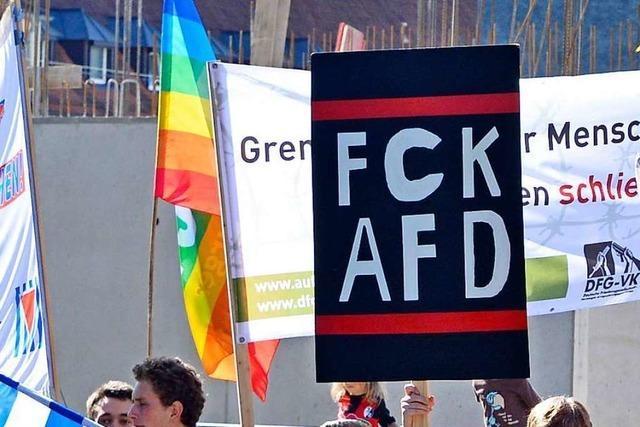 AfD empört über SWR-Beitrag aus Freiburger Polizeidirektion