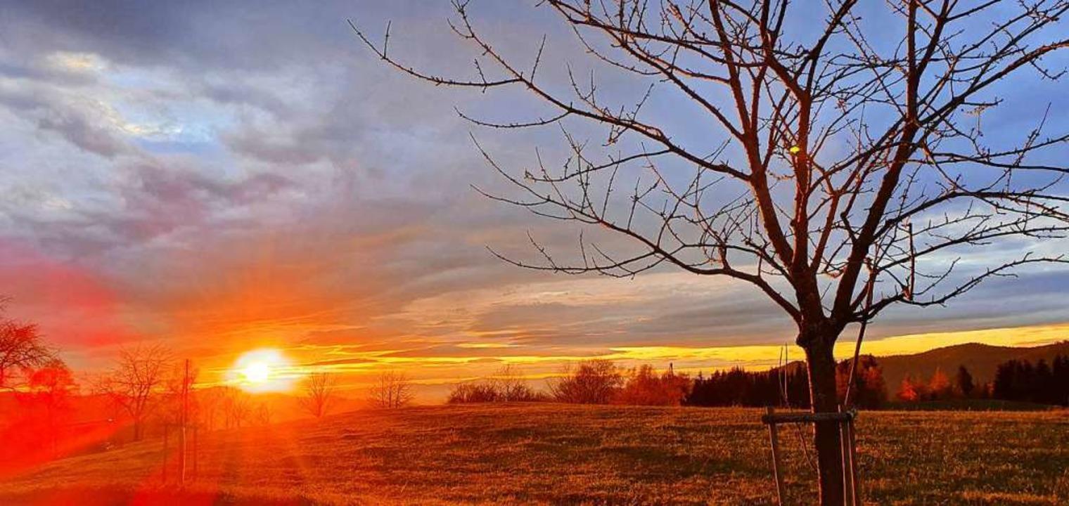 Sonnenuntergang.  | Foto: Sabine Beck