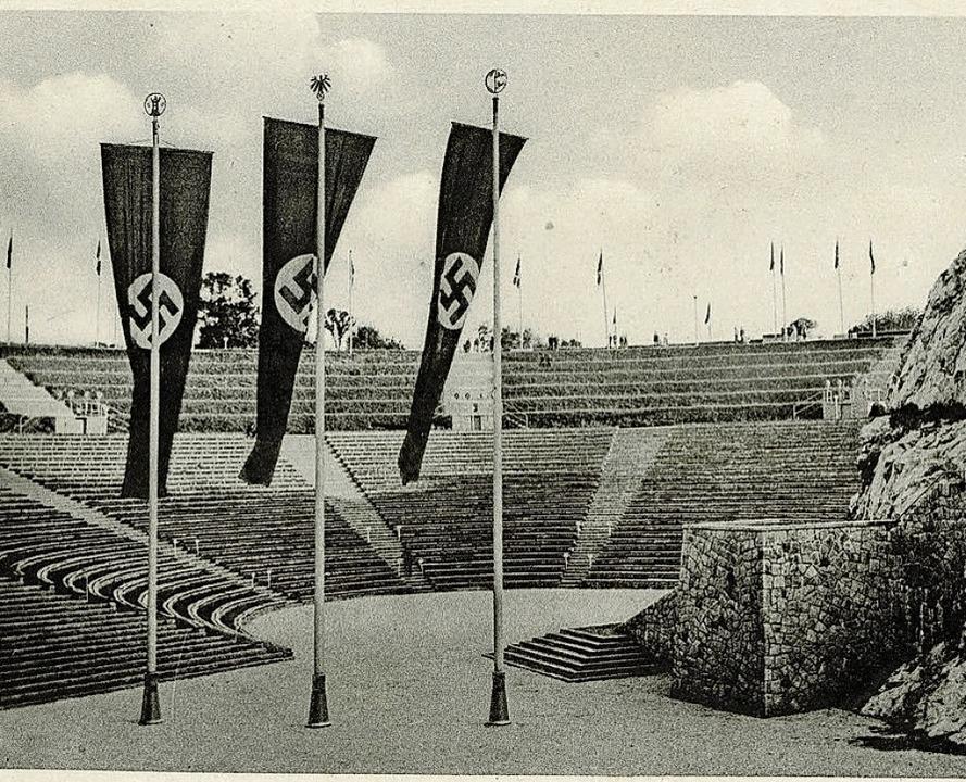 Historische Postkarte der Thingstätte Bad Segeberg   | Foto: Verlag