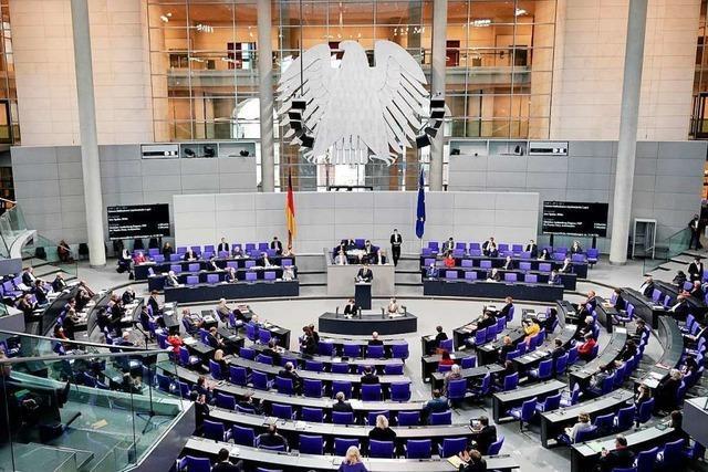 Geteilte Meinungen unter den Bundestagsabgeordneten zum Infektionsschutzgesetz