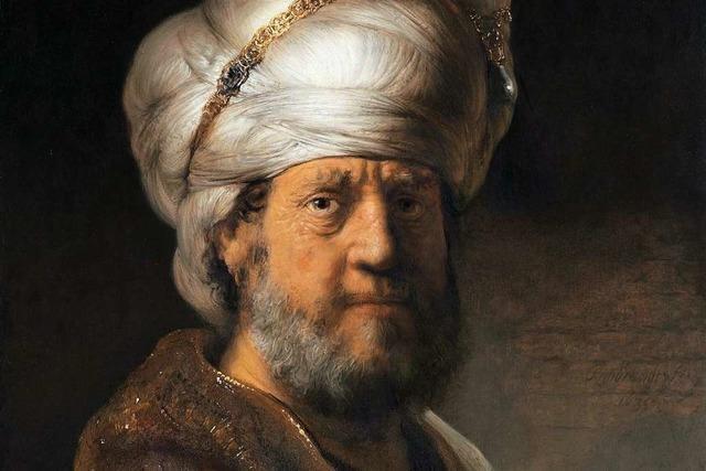 Der Mann mit dem Turban –