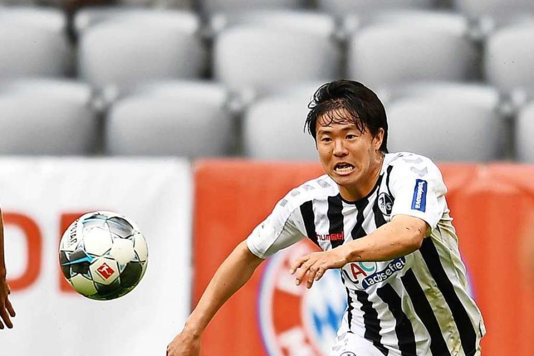 SC-Spieler Changhoon Kwon  | Foto: Achim Keller/SCFreiburg