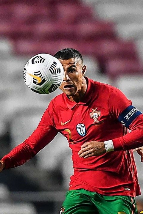 Star-Kicker Cristiano Ronaldo  | Foto: PATRICIA DE MELO MOREIRA (AFP)