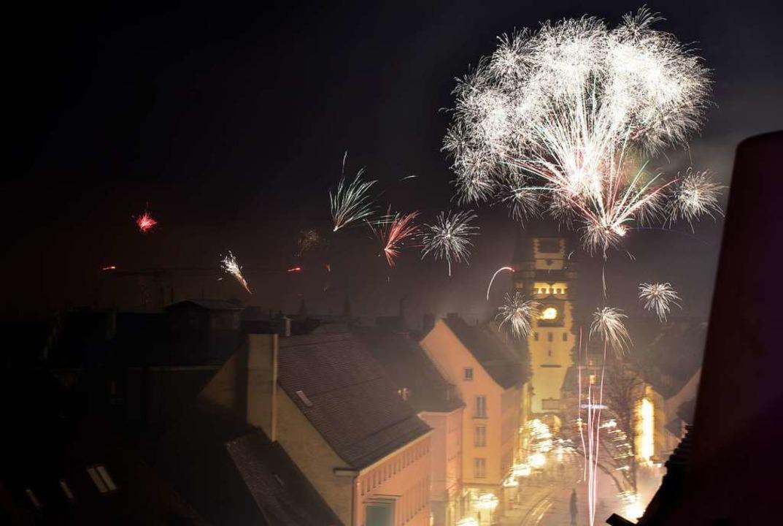 Wenn es nach der Freiburger Stadtverwa...h diesmal an Silvester krachen lassen.  | Foto: Thomas Kunz