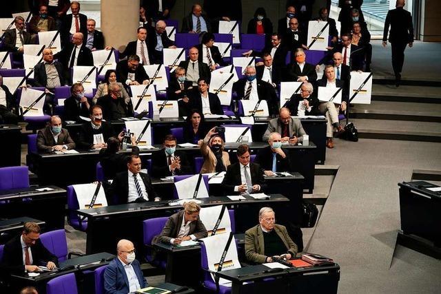 AfD-Störer im Bundestag: Verächtlicher geht es kaum