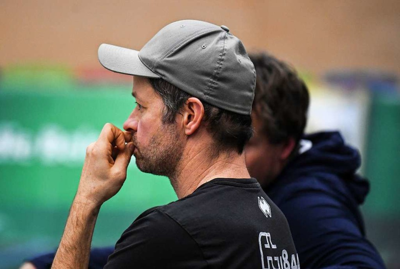 FT-Manager Florian Schneider ist stets...ter bei den Auftritten der Affenbande.  | Foto: Patrick Seeger
