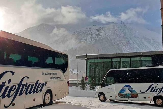 Lokale Busunternehmer glauben an eine Zukunft nach der Pandemie