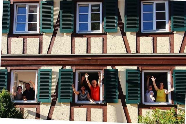 Förderpreis für ein neues Bürgercafé in Niederschopfheim