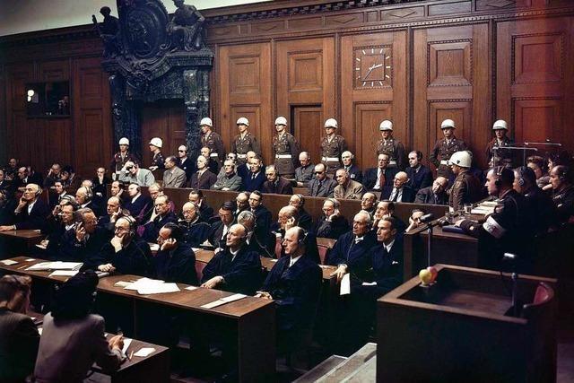 Am Ende siegt das Recht im Saal 600 des Nürnberger Justizpalastes