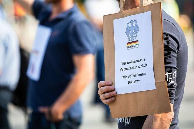 Kritische Fragen zu Corona-Demos im Lörracher Gemeinderat