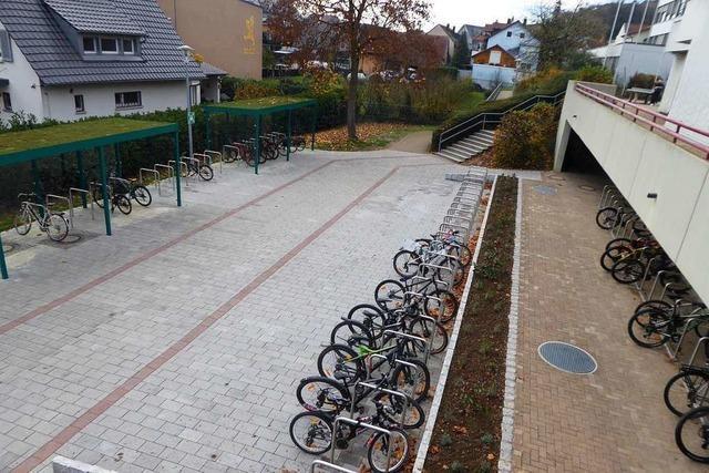 Mehr sichere Plätze für Fahrräder in Bötzingen und Eichstetten