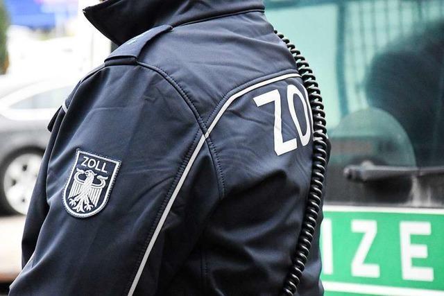 Zoll greift in Lörrach einen Mann auf, der mehr als eine Million Euro Steuern hinterzogen haben soll