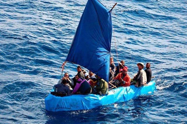 Was sind Bootsflüchtlinge?
