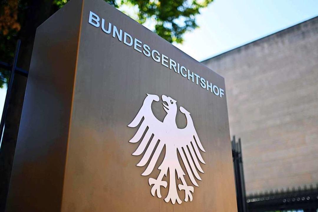 Der Bundesgerichtshof (BGH) verwarf se...Freitag in Karlsruhe mitgeteilt wurde.  | Foto: Uli Deck (dpa)