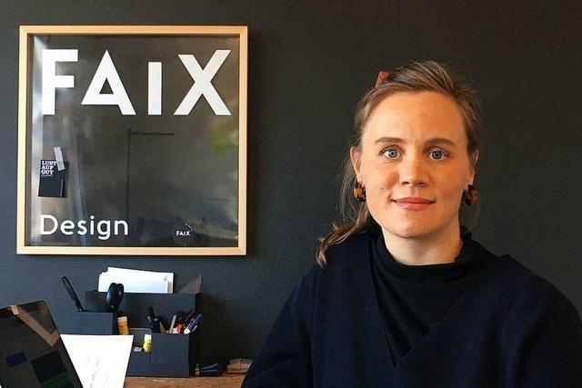 Anna-Lena Faix designt nachhaltige Rucksäcke in Gundelfingen