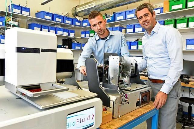 Freiburger Firma dosiert kleinste Flüssigkeitsmengen