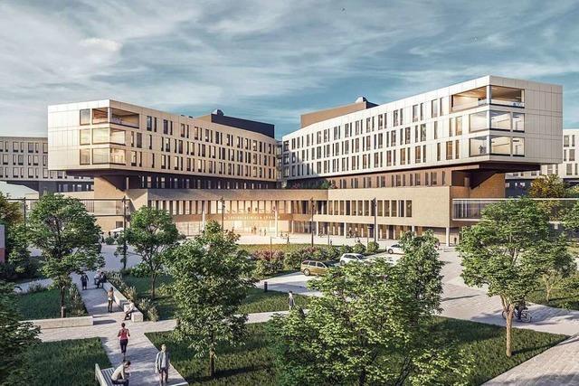 Das Lörracher Zentralklinikum soll 190 Millionen Euro Landesförderung bekommen