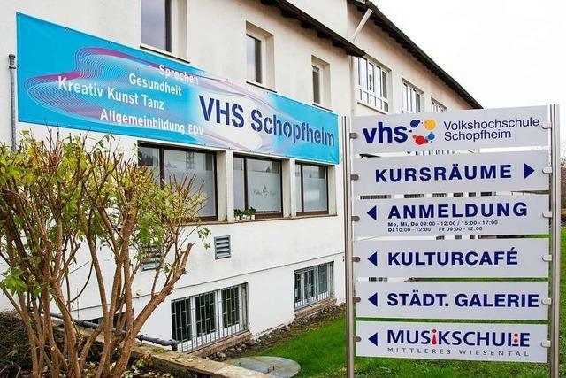 Die Schopfheimer Volkshochschule hat Angst, dass die Kursleiter abspringen