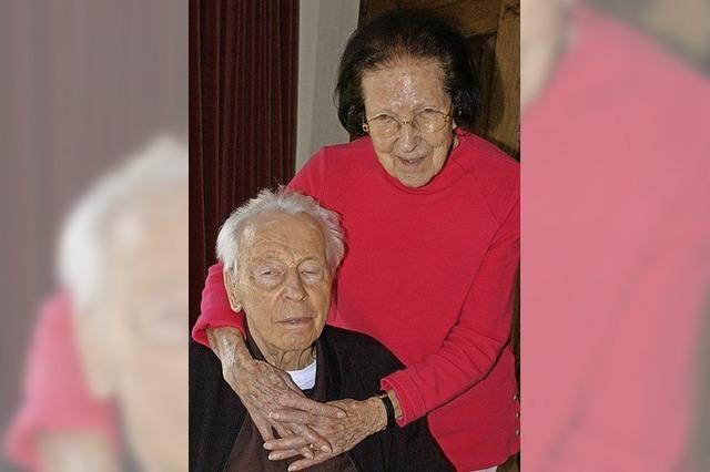 Bis ins hohe Alter ein aktives Paar