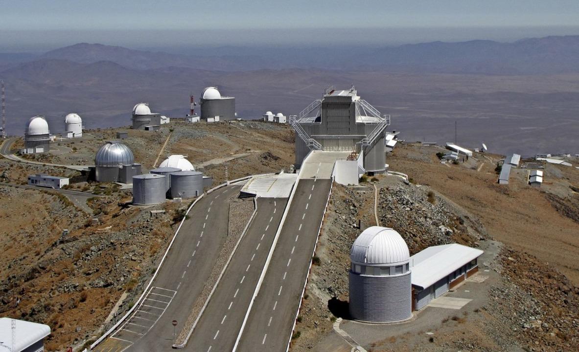 Das La-Silla-Observatorium in Chile beherbergt mehrere große Teleskope.  | Foto: Heinz Kieczka