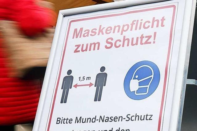 Der Landkreis Lörrach erweitert die Maskenpflicht