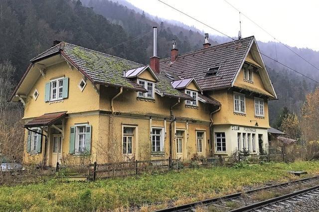 Bahnhof Posthalde im Höllental steht zum Verkauf