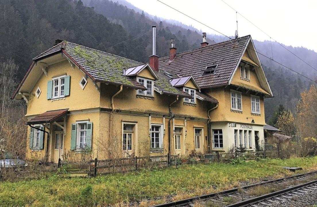 """Die """"Posthalde"""" wurde 1887...sten das Haus altersbedingt verlassen.    Foto: Michael Dörfler"""