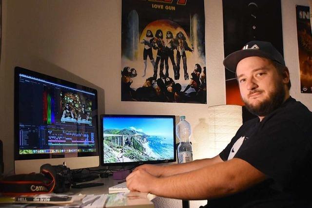 Das ist Thomas Damager, der ironische Gangster-Rapper aus Crimefelden
