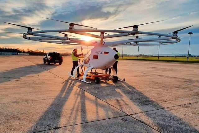 Auf dem Flugplatz Lahr werden auch unbemannte Fluggeräte getestet