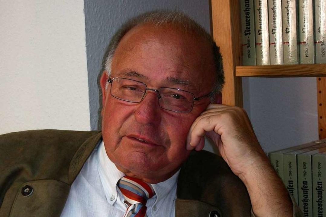 Hans-Rainer Kikisch: Der langjährige K...cher Maimarktes verstarb mit 79 Jahren  | Foto: Mario Schöneberg