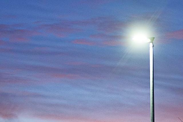 Teningen stellt um auf LED