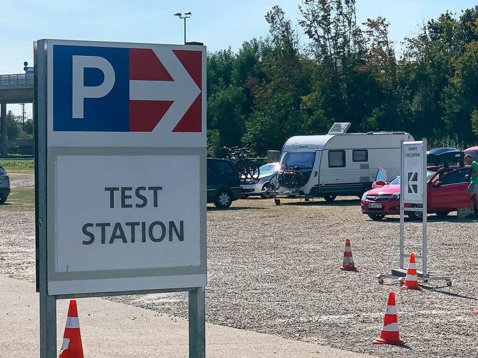Mit ihren großen Parkplätzen und den M...tion für Reiserückkehrer eingerichtet.  | Foto: Helmut Seller