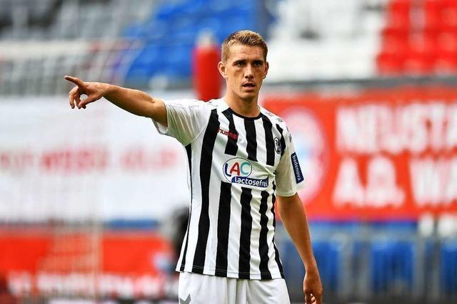 SC-Stürmer Nils Petersen: