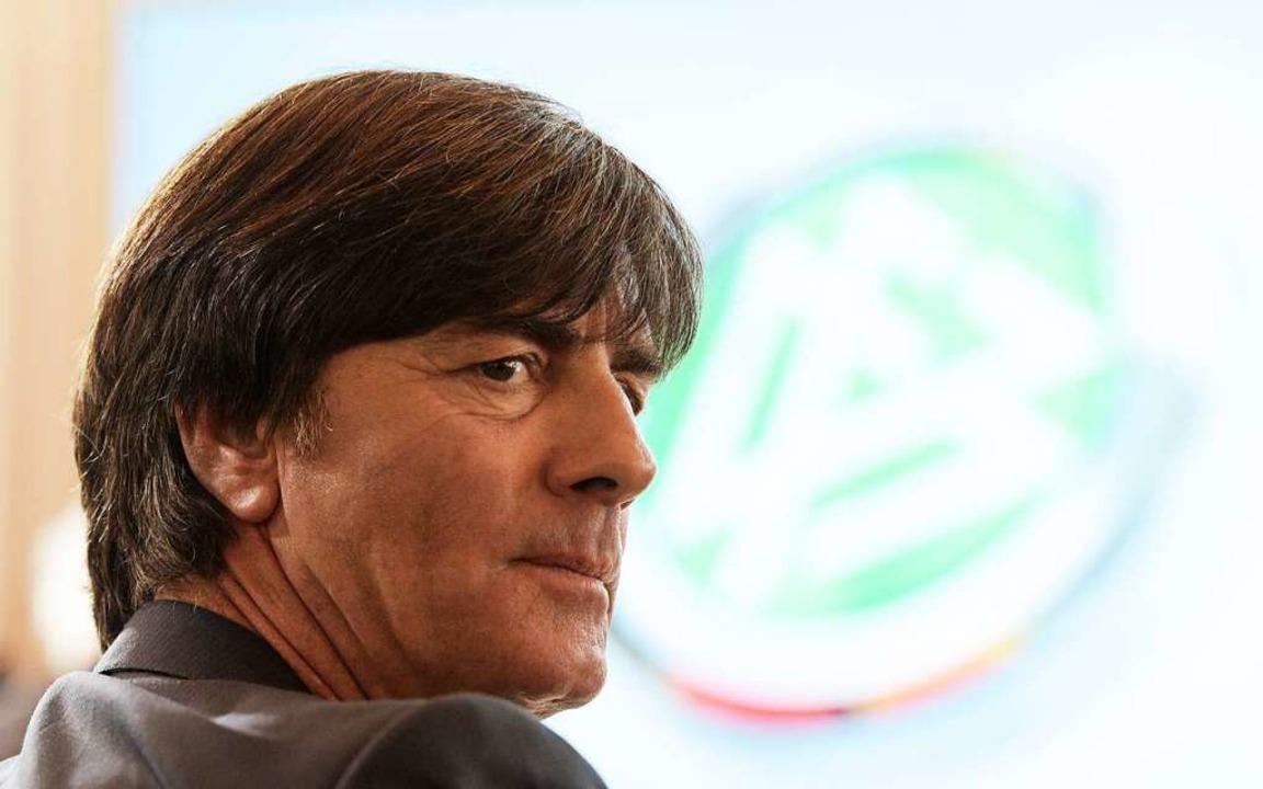 Kehrt dem DFB womöglich bald von sich ...raktive Jobs auf ihn warten: Jogi Löw.  | Foto: Rainer Jensen